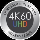 4K60 UHD